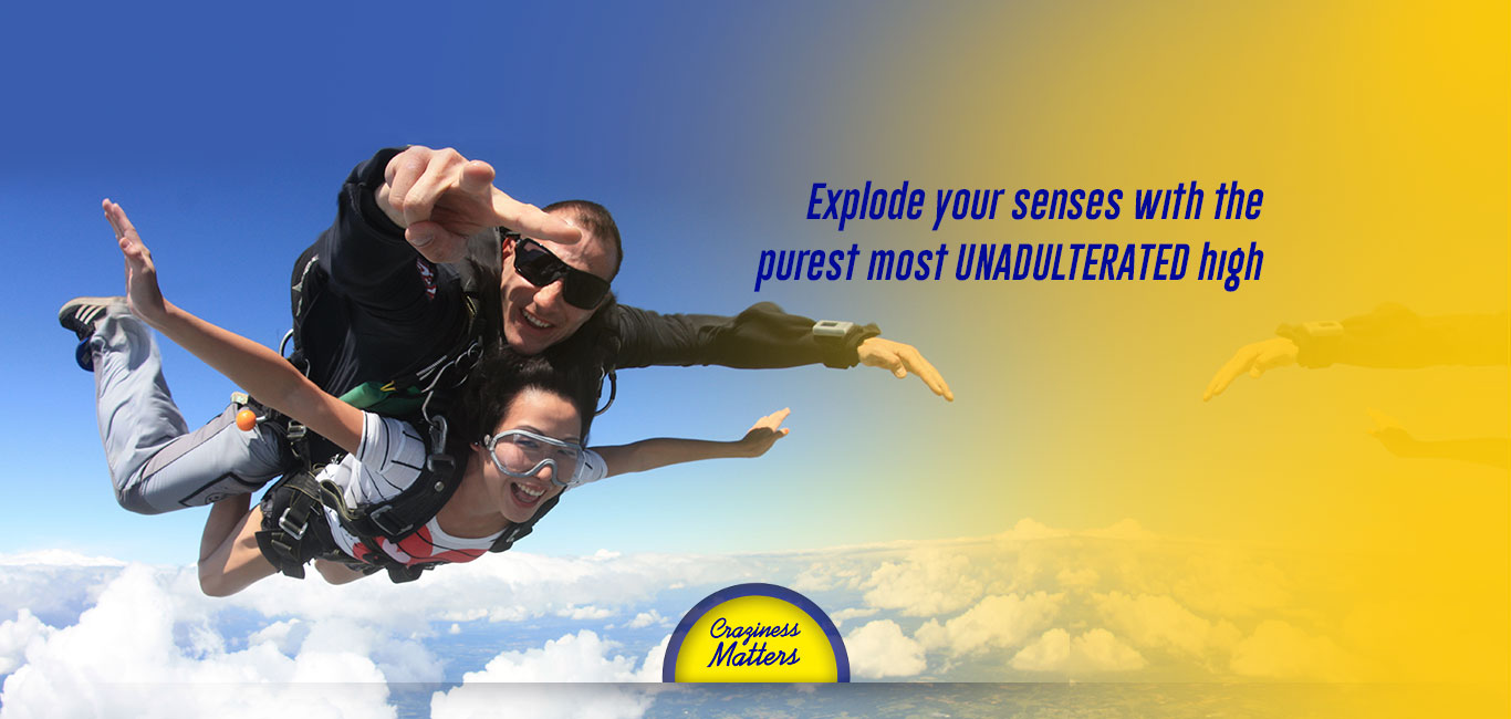 Skyriders | Skydiving in India – Craziness Matters